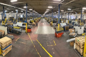 """<div class=""""bildtext_en"""">The biggest bar support and spacer production in USA at Vimco Inc. in Philadelphia/USA counting more than 25 Eurobend machines</div>"""