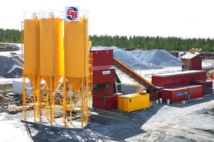 """<div class=""""bildtext_en"""">To meet the requirements of this project, Tecwill built a mobile concrete batching plant with a twin-shaft batch mixer at its heart</div>"""