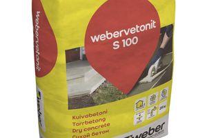 """<div class=""""bildtext_en"""">1 - Dry concrete mix for non-shrink grout of Saint Gobain Weber</div>"""