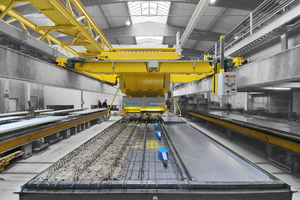 """<div class=""""bildtext_en"""">In the precast plant in Gars am Inn, in Upper Bavaria, Germany, the old concrete batcher had to make way for the newly developed eCon from Ebawe</div>"""