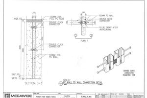 "<div class=""bildtext_en"">Sample drawing by Megawide Precast for a Philippine housing project with click connectors from Precontech</div>"