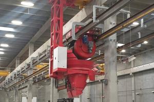 """<div class=""""bildtext_en"""">Concrete distribution system by detachable casting machines type BR</div>"""
