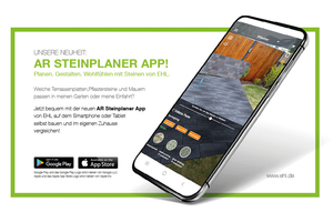 """<div class=""""bildtext_en"""">The Ehl AR app helps to find the right paving blocks, terrace slabs and walls</div>"""
