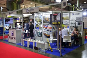 "<div class=""bildtext_en"">The two previous events – here the Bianchi stand at the trade show – were well attended</div>"