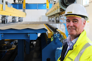 """<div class=""""bildtext_en"""">Walter Preisinger, Division Manager for Precast Production, is satisfied with the new system</div>"""