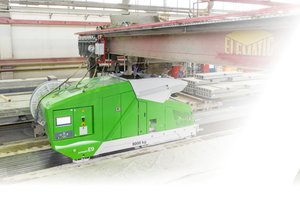 """<div class=""""bildtext_en"""">Recycling concrete using the Extruder and Modifier combo can save the average precast factory about € 135,000 annually </div>"""