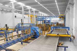 "<div class=""bildtext_en"">The BlueMesh mesh welding plant and VGA Versa lattice girder welding machine form part of the impressive, fully automated reinforcement area</div>"