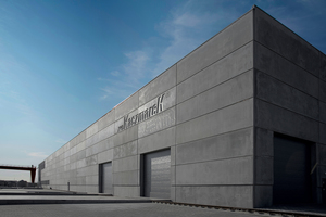 "<div class=""bildtext_en"">The new production hall in Prusice near Wroclaw has been constructed with precast concrete elements of the company's own manufacture</div>"