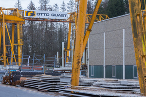 """<div class=""""bildtext_en"""">In his precasting plant in Freudenberg, Germany, Otto Quast manufactures Filigran slabs, wall panels and structural concrete elements</div>"""