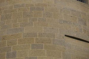 "<div class=""bildtext_en"">The 4,500 unique masonry blocks were cut out of tuff concrete blocks in a meticulous process</div>"
