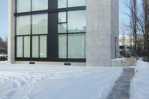 """<div class=""""bildtext"""">Die Außenwände eines privaten Wohnhauses in Berlin bestehen aus Infraleichtbeton</div>"""