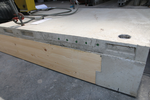 """<div class=""""bildtext_en""""><irspacing style=""""letter-spacing: -0.01em;"""">Fig. 8: Floor slab with flush screw sleeves of the socket bars to be connected</irspacing></div>"""