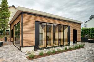 """<div class=""""bildtext_en"""">Fig. 2: Utilization of the completed building InnoLiving as office</div>"""