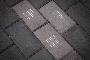 """<div class=""""bildtext_en"""">The luminous LED paving stones of Lucem combine an attractive lighting design with the robustness of concrete</div>"""