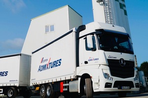 """<div class=""""bildtext_en"""">Cemex Admixtures is in an outstanding position to deliver any required admixture using own trucks</div>"""
