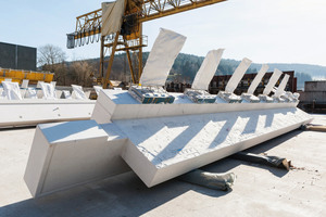 """<div class=""""bildtext_en"""">The precast elements were produced four to six weeks before their scheduled installation to ensure smooth construction progress</div>"""