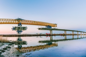 """<div class=""""bildtext_en"""">MCI is used for corrosion protection of PT concrete segments: Bridge over the Roskilde Fjord (Denmark)</div>"""