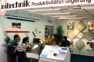 """<div class=""""bildtext_en"""">From individual solution to product: at bauma 1995, Unitechnik presented its master computer to the international public</div>"""