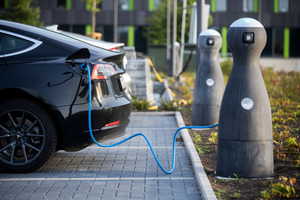 """<div class=""""bildtext_en"""">Charging stations for electrical vehicles made of high-strength concrete using a special binder from Dyckerhoff</div>"""