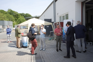 """<div class=""""bildtext_en"""">The """"Innovation Impulses for the Construction Industry"""" of Aachen Building Experts e.V. took place on the company premises of Lucem GmbH</div>"""