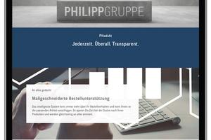 "<div class=""bildtext_en"">With its new Phiadukt Internet Service Portal, Philipp is building a digital bridge between supplier and end customer</div>"