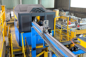 """<div class=""""bildtext_en"""">The new fully automatic VGA Versa lattice girder welding machines allow for an exceedingly quick girder height adjustment during the production process </div>"""