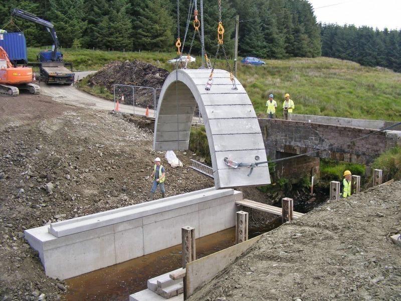 Precast Concrete Arches : Concrete plant precast technology