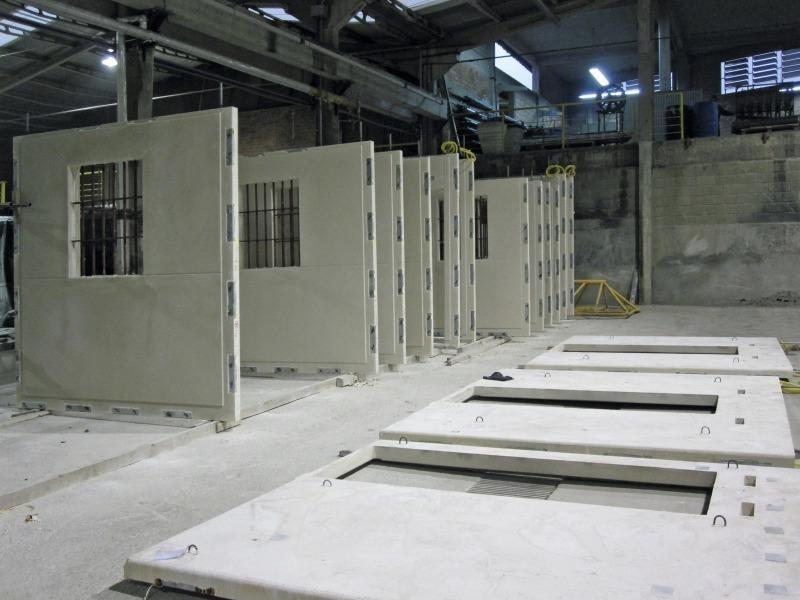 Concrete plant precast technology for Prefab framing