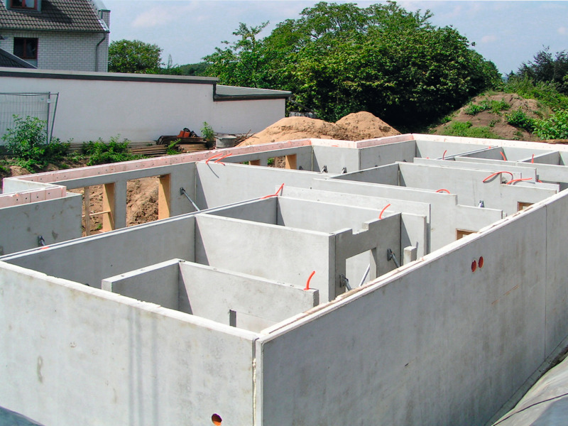 Precast Concrete Basement Walls Part - 26: Thermal Wall Elements Also Qualify For Basement Construction