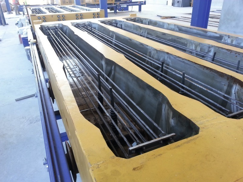 prestressed concrete sleepers for america