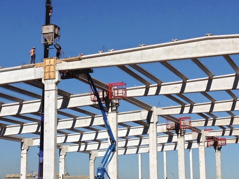 Precast Concrete Structures : Concrete plant precast technology
