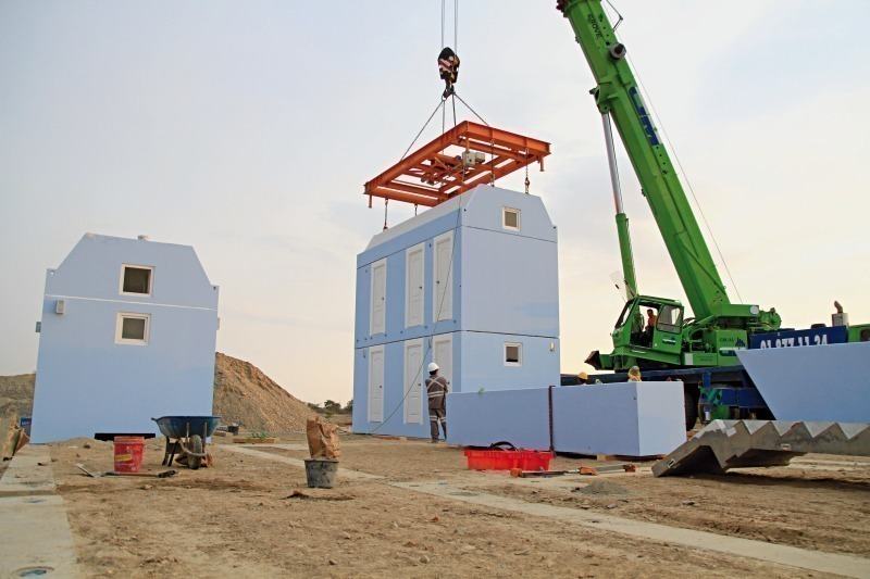 Modular Housing System for earthquake proof living space in Peru