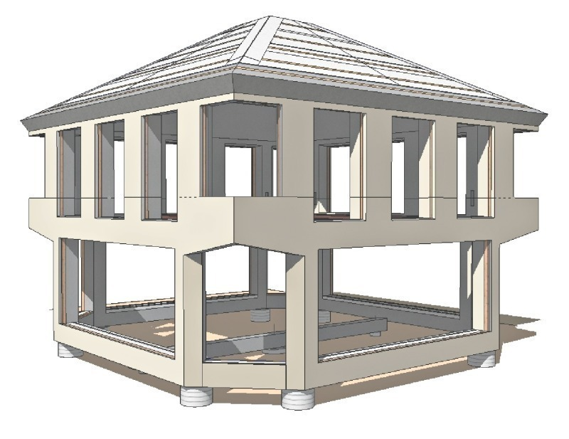 the complete concrete frame