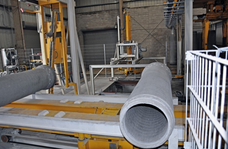 Concrete Pipe Plant : Concrete plant precast technology