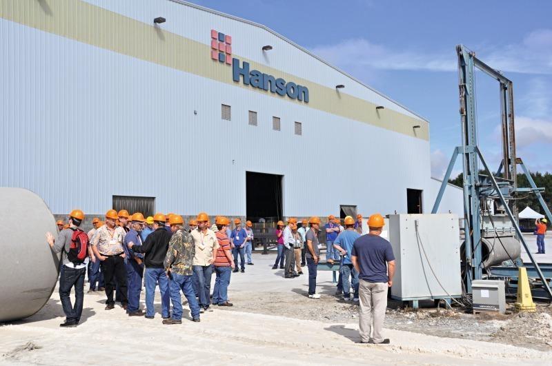 Rinker Materials Concrete Pipe Handling : Concrete plant precast technology