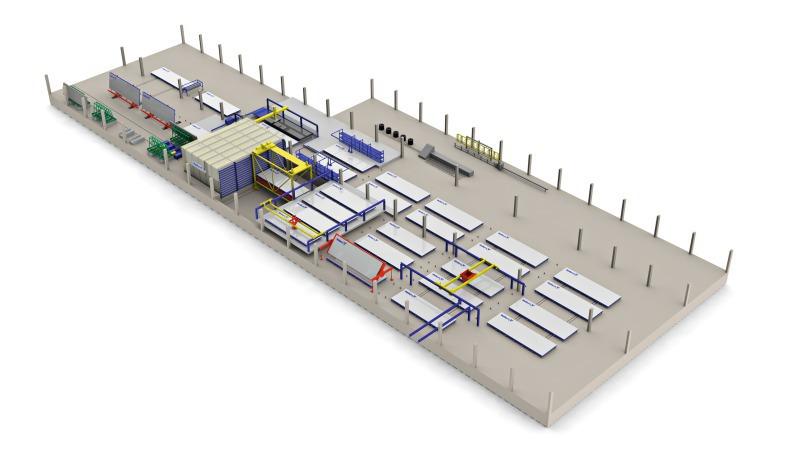 Precast Concrete Building System For Residential Housing
