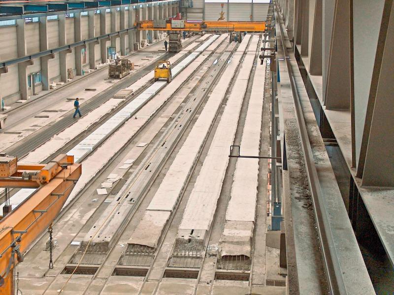 Pre Stressed Concrete Slabs Residential : Concrete plant precast technology