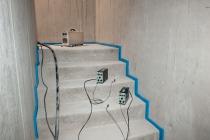 treppe schallschutz auflager