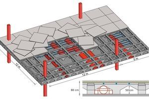 "<span class=""bildunterschrift_hervorgehoben"">Fig. 1</span> Floor for installations – the idea.<br />"