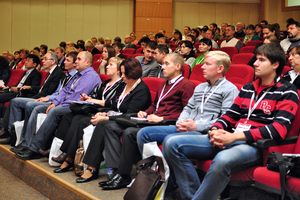 """<div class=""""bildtext_en"""">More than 200 staff members and decision makers of leading Russian manufacturers of concrete and precast concrete elements attended the third """"All-Russia Conference of Concrete Manufacturers""""</div>"""
