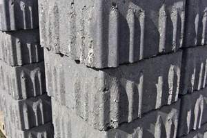 """<div class=""""bildtext_en"""">Spacer element of the so-called """"Einstein"""" permeable paver</div>"""