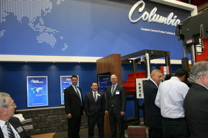 Beside the large number of exhibitors from Germany and Europe, there were also many exhibitors from overseas, like Columbia/USA