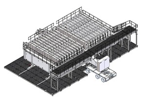 The battery mold system can be put into operation immediately after the connection of the energy supply