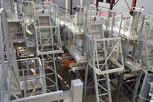 """<div class=""""bildtext_en"""">The entire mixing plant consists of five stand-alone and independent mixing stations</div>"""