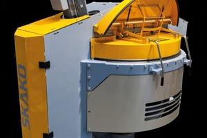 Den Mischer Rotoconix gibt es mit 750l, 1.500l und 2.250l Mischvolumen