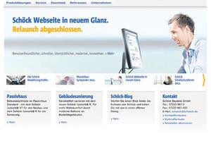 Zum 50-jährigen Firmenjubiläum zeigt sich der Bauteilhersteller Schöck aus Baden-Baden im Internet mit neuem Gesicht<br />