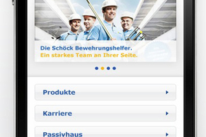 """<div class=""""bildunterschrift_en"""">Slender navigation in modern design and quicklinks on the homepage enable quick and comfortable access to products and other areas </div>"""