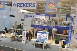 "<span class=""bildunterschrift_hervorgehoben"">Fig. 10</span> The Rekers stand at bauma 2010 impressed its visitors even without machinery.<br />"
