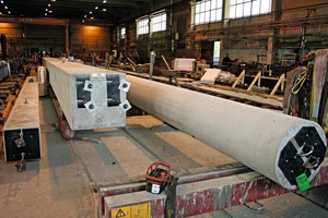 """<div class=""""bildtext_en"""">The precast concrete beams and columns are provided with connection elements made by Peikko</div>"""