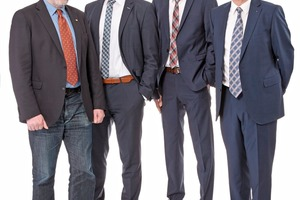 "<div class=""bildtext_en"">The Executive Board of Sofistik AG (from left): Casimir Katz, Frank Deinzer, Stefan Maly, Thomas Fink</div>"